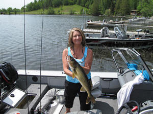 lady walleye