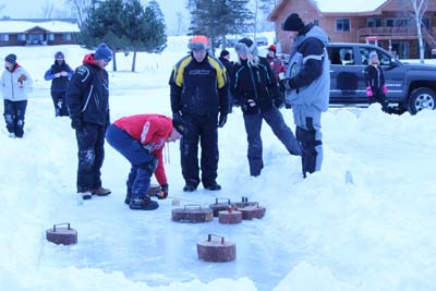 Ice bocce tournament longville mn chamber of commerce for Ice fishing tournaments mn 2017