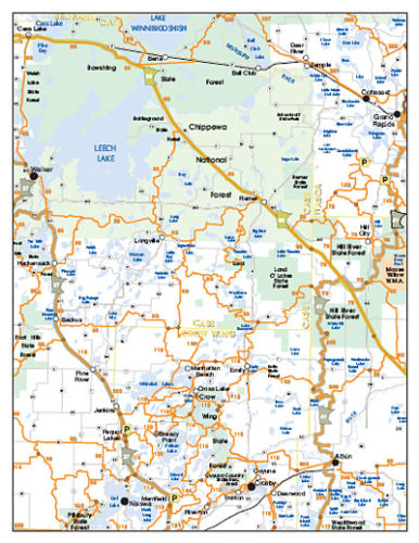 Longville MN Maps   Lake Maps   Trail Maps   Area Maps   Winter